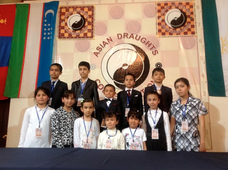 Чемпионат Азии по бразильским шашкам 2013